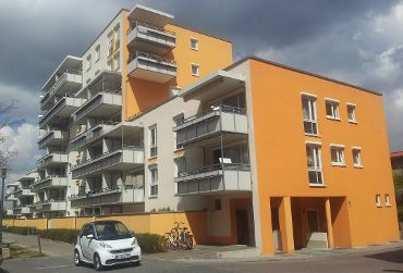 Mehrfamilienhaus in München-Milbertshofen, Am Hart, WEG mit 43 Wohneinheiten