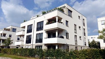 Wohnquartier in M-Bogenhausen, 3 WEGs, 19 Häuser, 186 Wohneinheiten, 200 TG-KFZ-Stellplätze, 2. Bauabschnitt