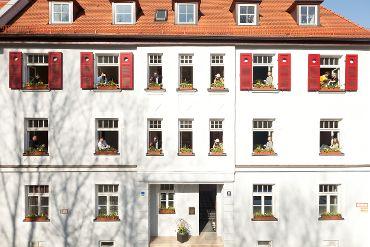 Mehrfamilienhaus in München-Au-Haidhausen, WEG, 20 Wohneinheiten, 4 Garagen, Denkmalschutz