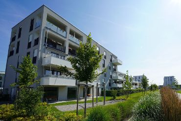 Wohnquartier in München-Ramersdorf-Perlach, WEGs, 2 Treppenhäuser, 23 WE, 23 TG-KFZ-Stellplätze