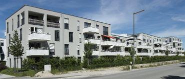 Wohnquartier in München-Ramersdorf-Perlach, WEG, 6 Treppenhäuser, 58 WE, 58 TG-KFZ-Stellplätze